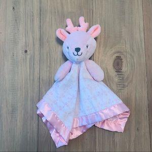 Cloud Island | Pink Reindeer Baby Lovey